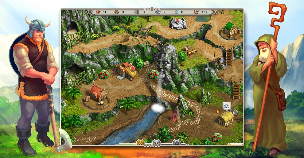 Screenshot № 1. Download Viking Saga 3: Epic Adventure and more games from Realore website