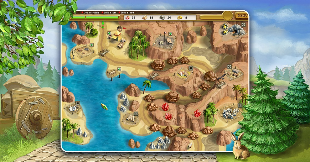 Screenshot № 6. Download Roads of Rome and more games from Realore website