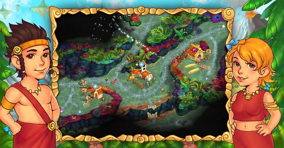 Screenshot № 2. Download Island Tribe 5 and more games from Realore website