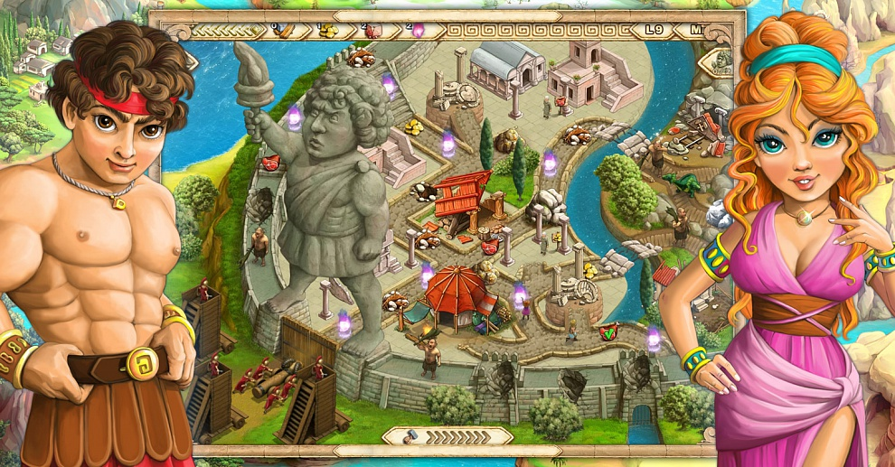 Screenshot № 6. Download Demigods and more games from Realore website