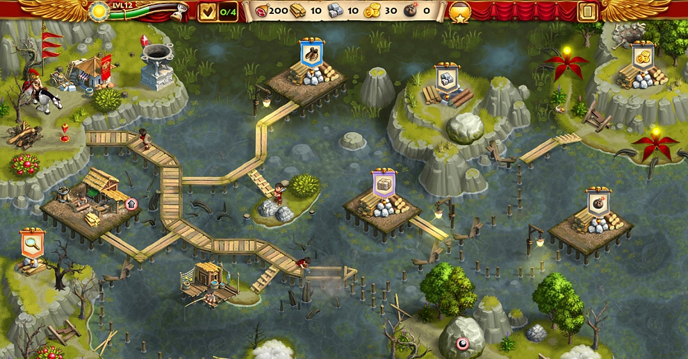 Screenshot № 5. Download Roads of Rome: New Generation 3 Collector`s Edition and more games from Realore website
