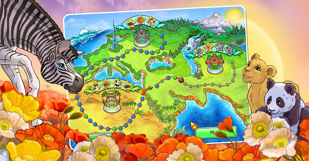 Screenshot № 4. Download Jane's Zoo and more games from Realore website