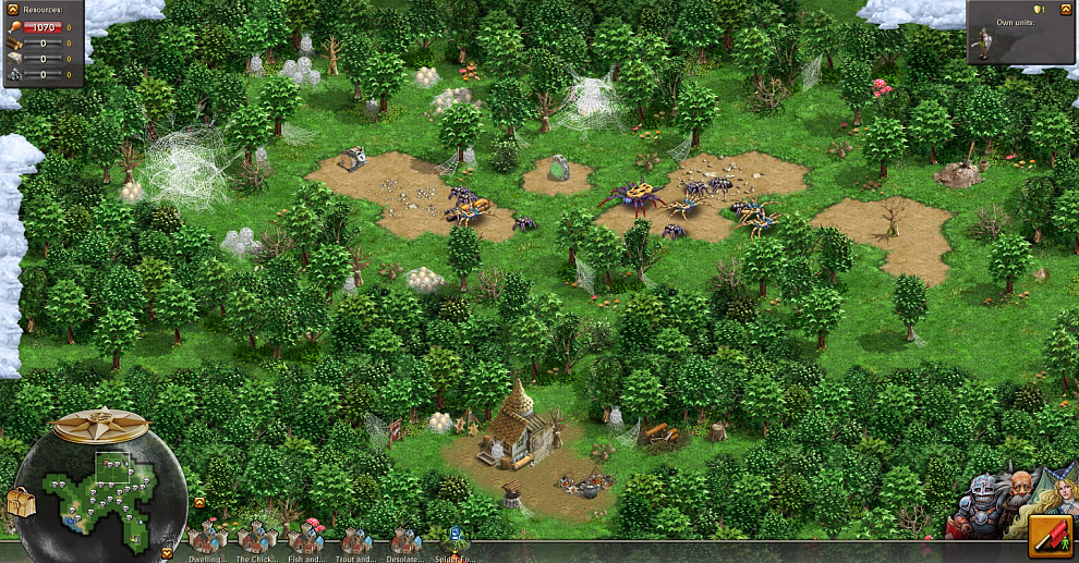 Screenshot № 2. Download Totem Tribe II: Jotun and more games from Realore website