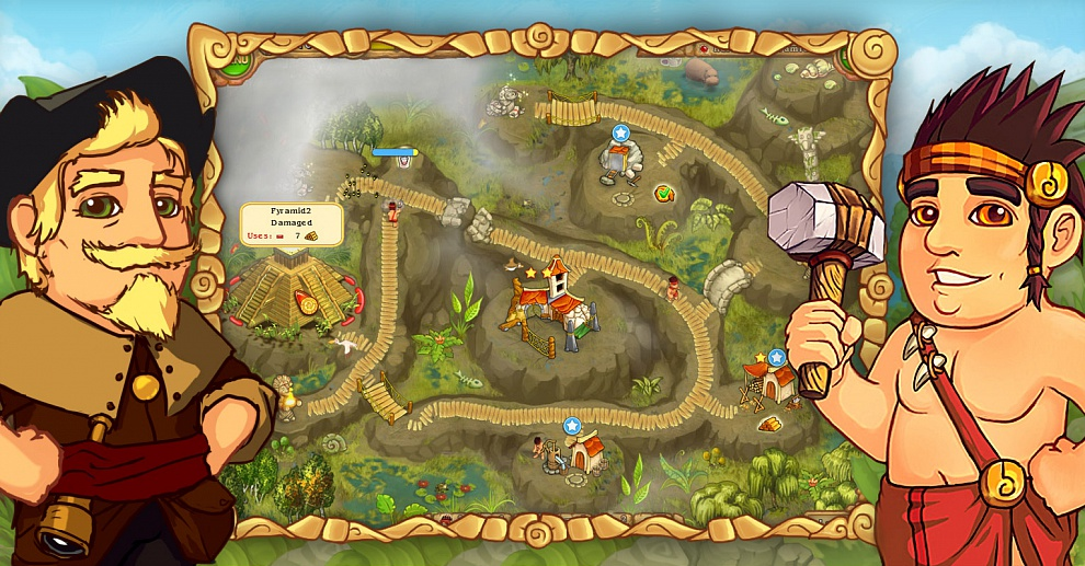 Screenshot № 2. Download Island Tribe 2 and more games from Realore website