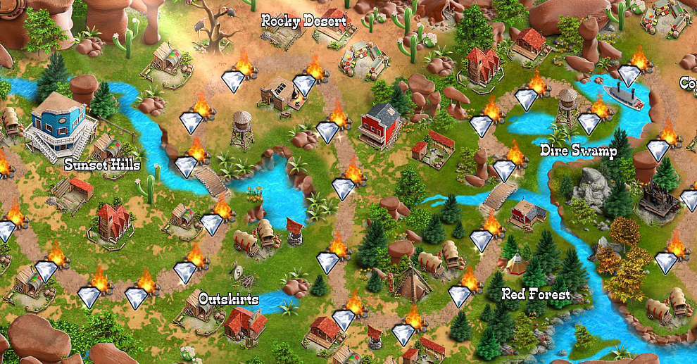 Screenshot № 2. Download Country Tales and more games from Realore website