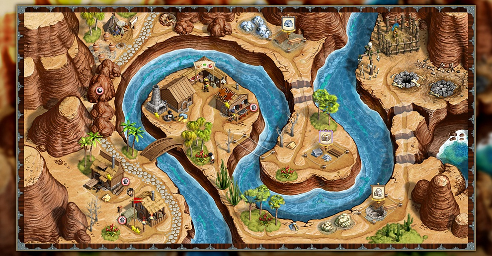 Screenshot № 6. Download Adelantado. 4 Aztec Skulls and more games from Realore website