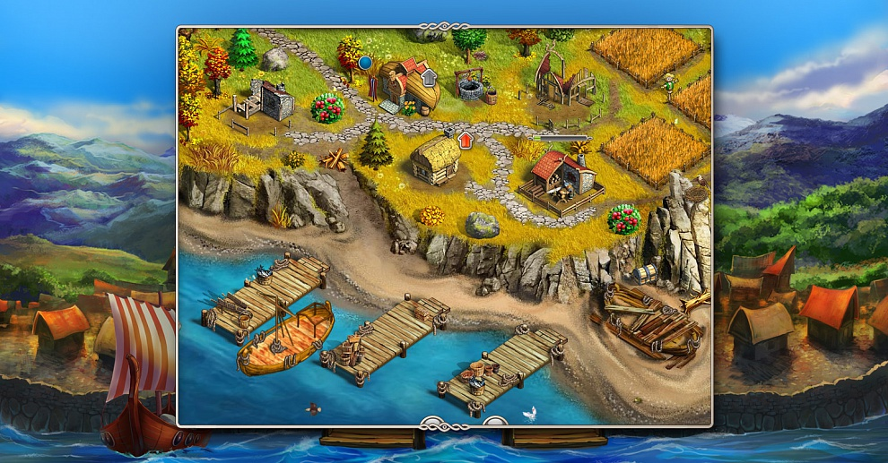 Screenshot № 3. Download Viking Saga 2: New World and more games from Realore website