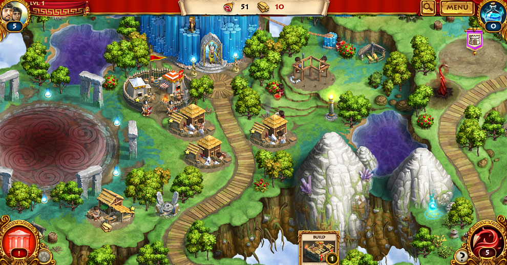 Screenshot № 1. Download Roman Adventures: Britons. Season 2 (Skrill) and more games from Realore website