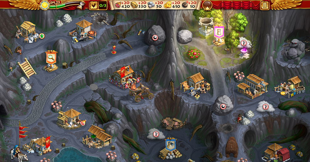 Screenshot № 2. Download Roads of Rome: New Generation 3 and more games from Realore website
