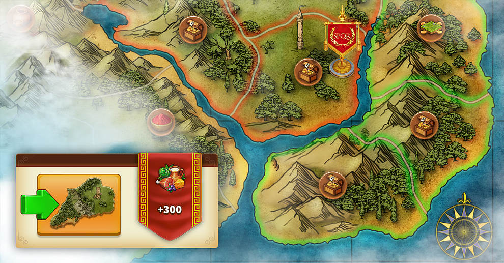 Screenshot № 5. Download Rise of the Roman Empire and more games from Realore website