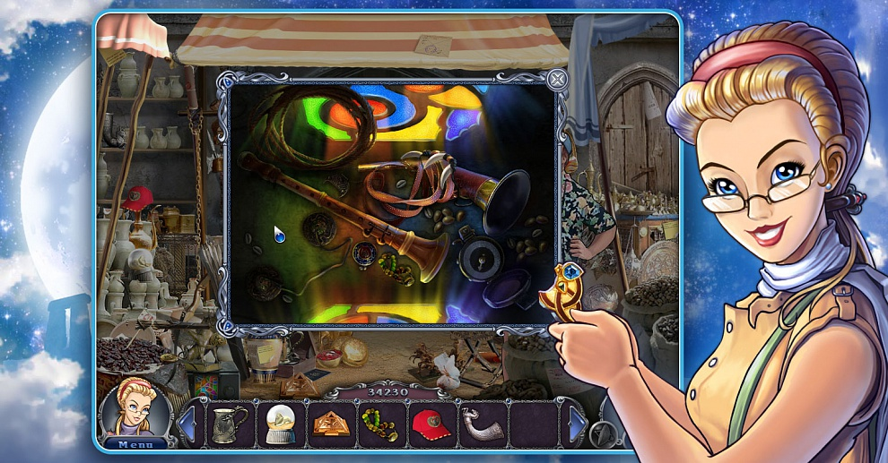 Screenshot № 7. Download 3 Days: Amulet Secret and more games from Realore website