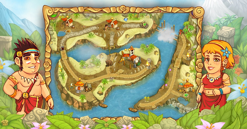 Screenshot № 2. Download Island Tribe 3 and more games from Realore website
