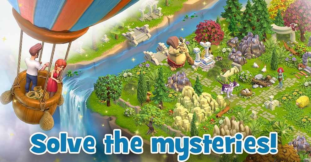 Screenshot № 9. Download Land of Legends: Divine Town and more games from Realore website