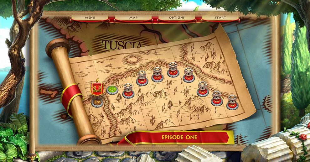 Screenshot № 4. Download Roads of Rome: New Generation and more games from Realore website
