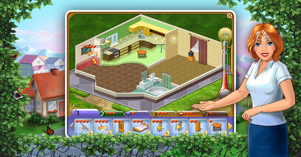 Screenshot № 1. Download Jane's Realty 2 and more games from Realore website