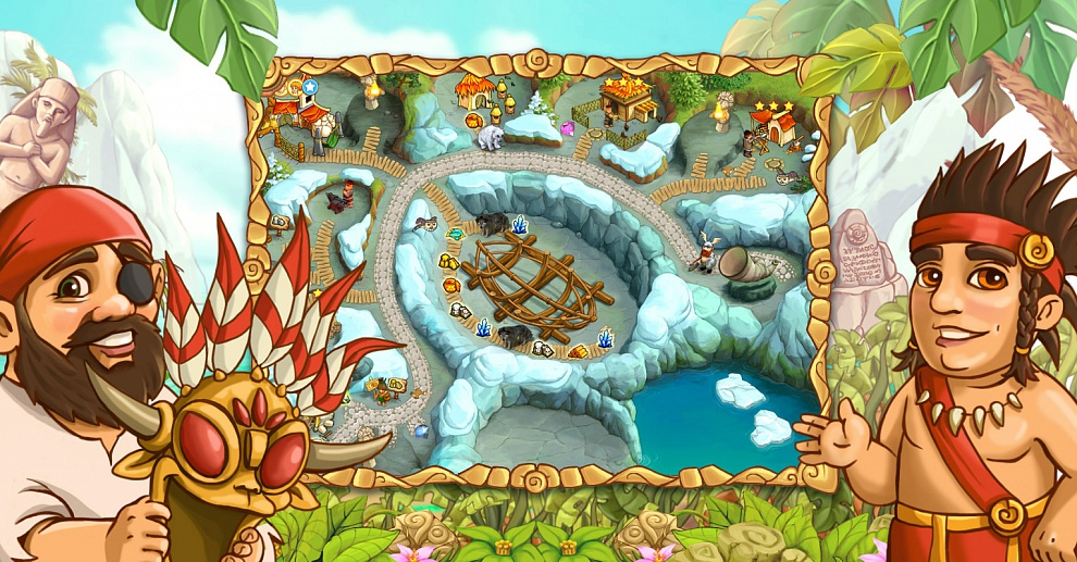 Screenshot № 4. Download Island Tribe 4 and more games from Realore website