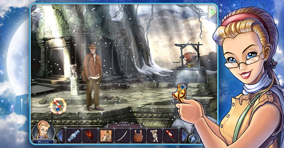 Screenshot № 6. Download 3 Days: Amulet Secret and more games from Realore website