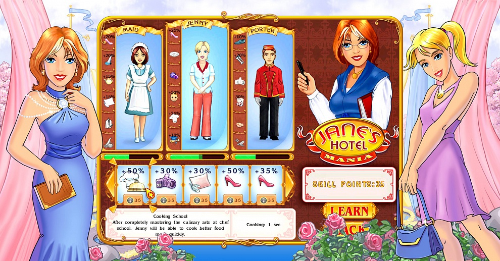 Screenshot № 5. Download Jane's Hotel 3: Mania and more games from Realore website