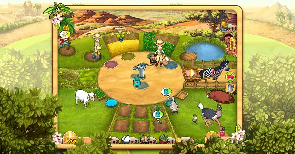 хочу рассказать картинка не сложная веселая ферма она спокойнее