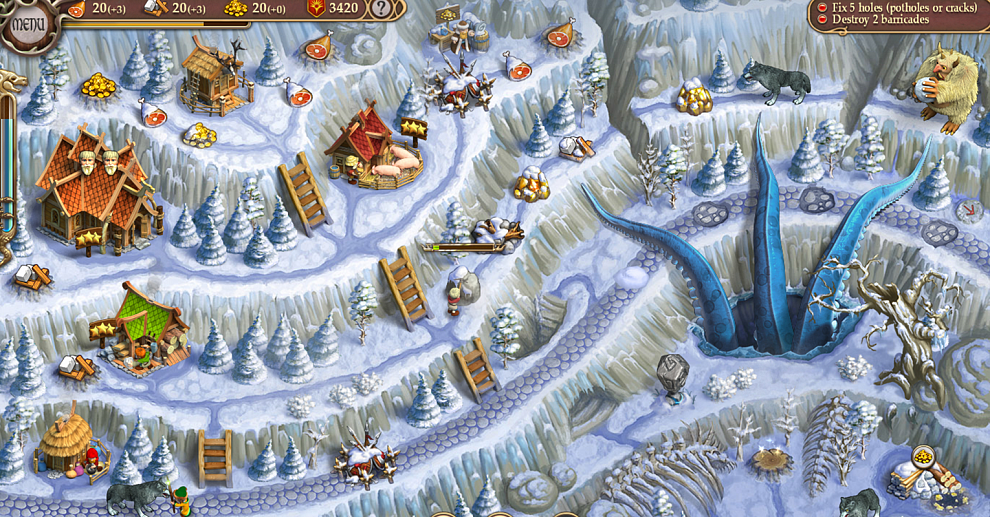 Screenshot № 6. Download Northern Tale 5: Revival. Collectors Edition and more games from Realore website