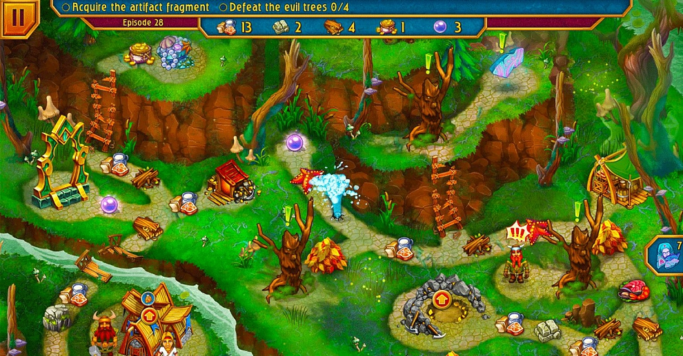 Screenshot № 3. Download Viking Brothers 4 and more games from Realore website