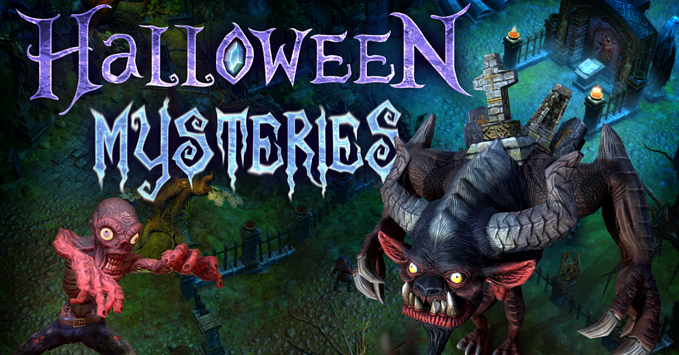 Screenshot № 6. Download Halloween Mysteries and more games from Realore website