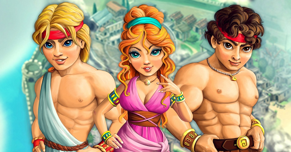 Screenshot № 1. Download Demigods and more games from Realore website