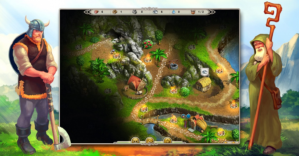 Screenshot № 2. Download Viking Saga 3: Epic Adventure and more games from Realore website