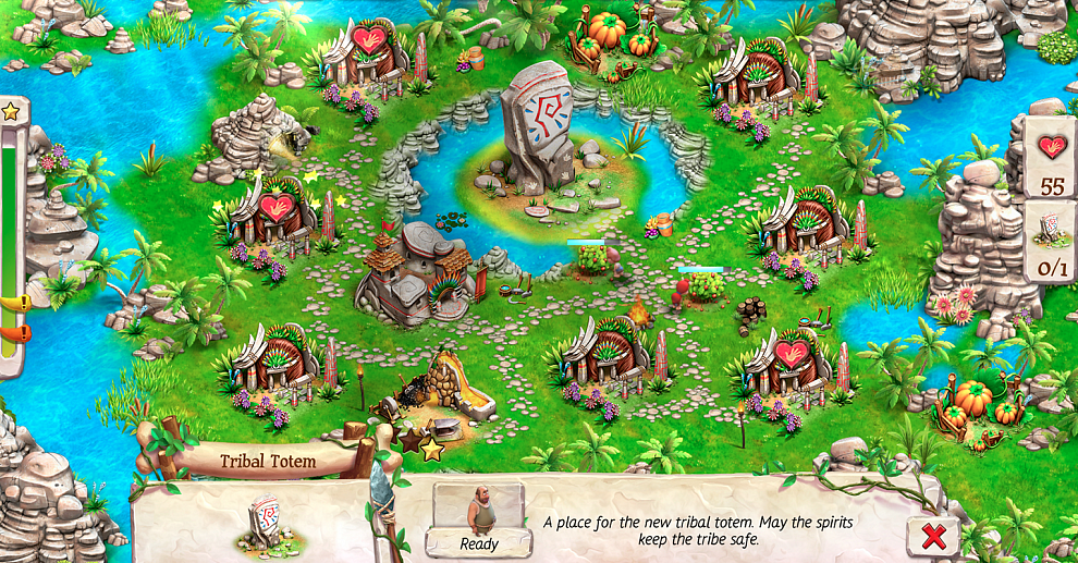 Screenshot № 5. Download Caveman Tales and more games from Realore website