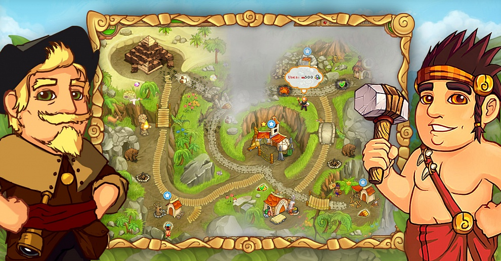 Screenshot № 3. Download Island Tribe 2 and more games from Realore website