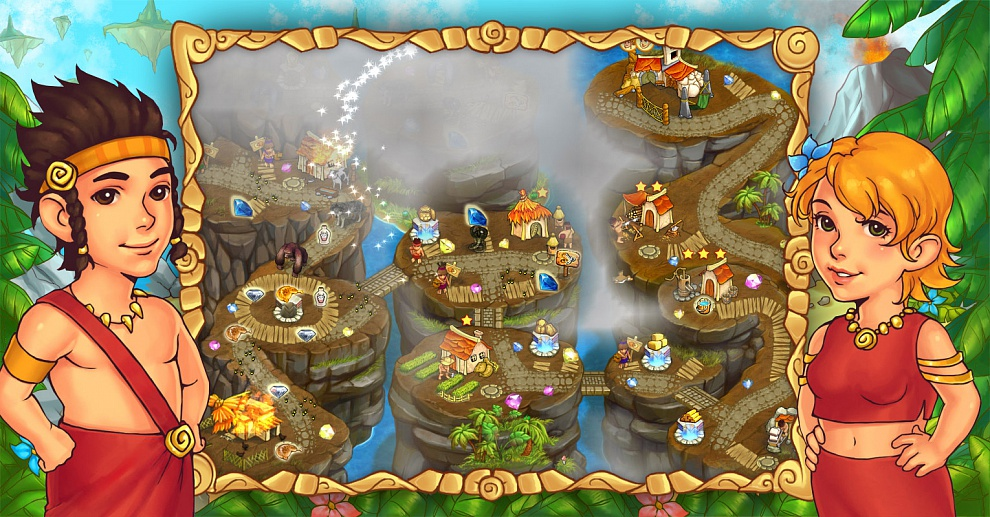 Screenshot № 5. Download Island Tribe 5 and more games from Realore website