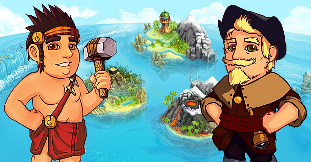 Screenshot № 1. Download Island Tribe 2 and more games from Realore website