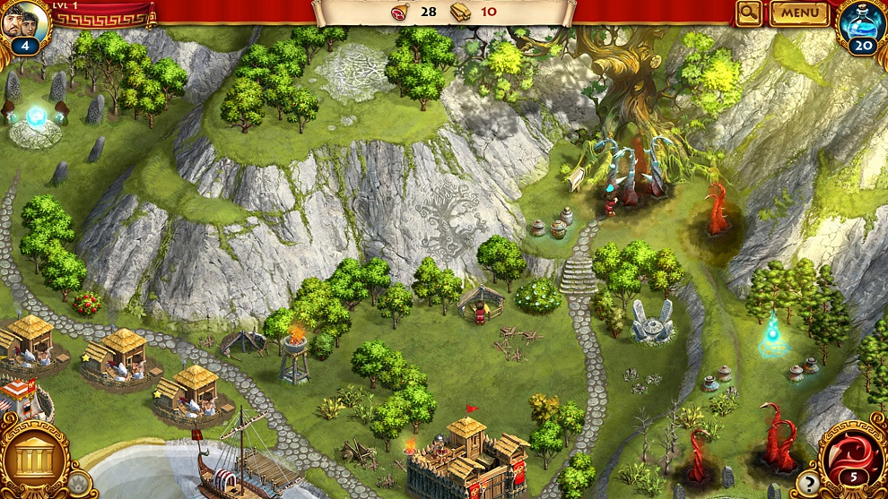 Screenshot № 3. Download Roman Adventures: Britons. Season 1 and more games from Realore website