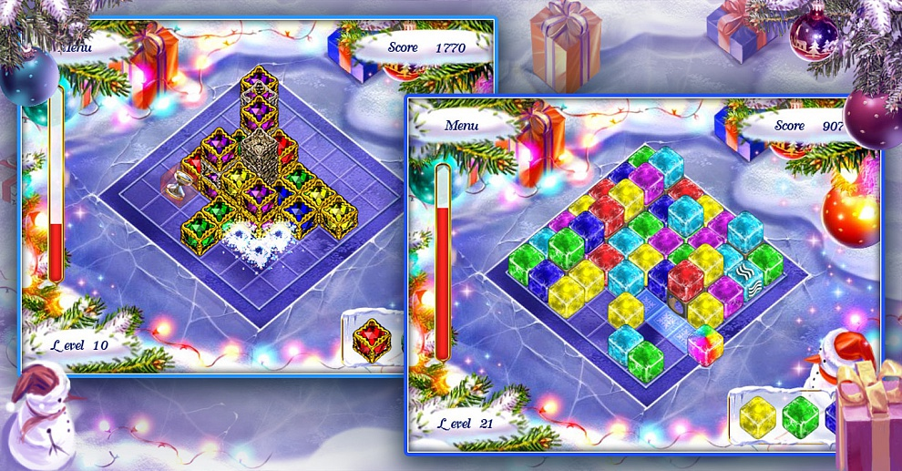 Screenshot № 2. Download Xmas Blox and more games from Realore website