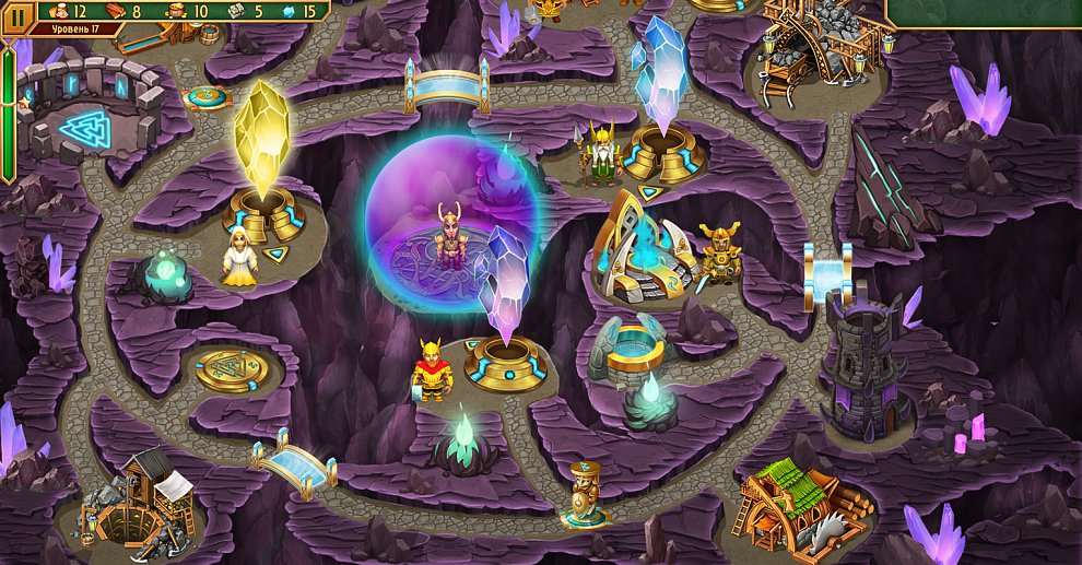 Screenshot № 5. Download Viking Brothers 3. Collector's Edition and more games from Realore website