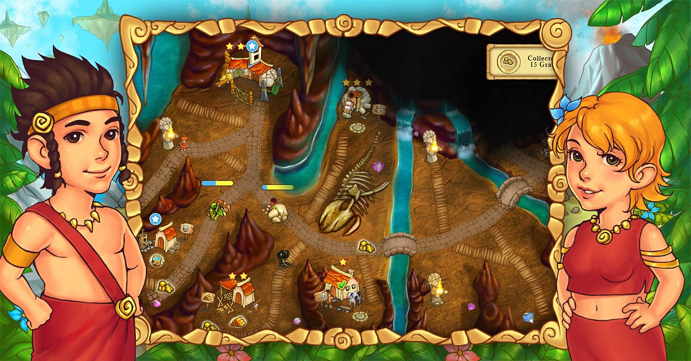 Screenshot № 3. Download Island Tribe 5 and more games from Realore website