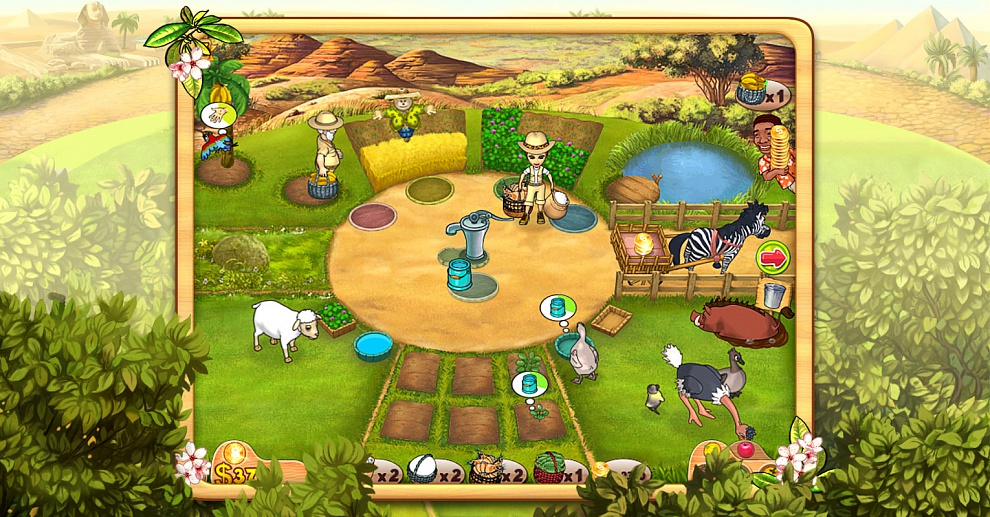 Screenshot № 6. Download Farm Mania 3: Hot Vacation and more games from Realore website