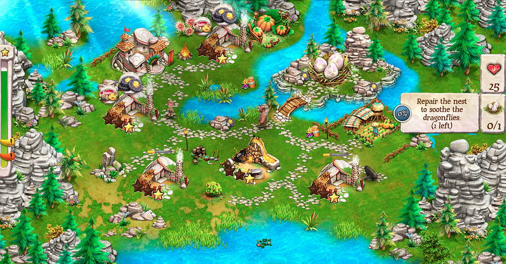 Screenshot № 1. Download Caveman Tales and more games from Realore website