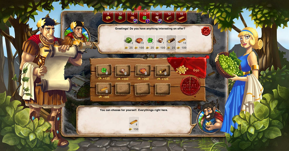 Screenshot № 3. Download When In Rome and more games from Realore website