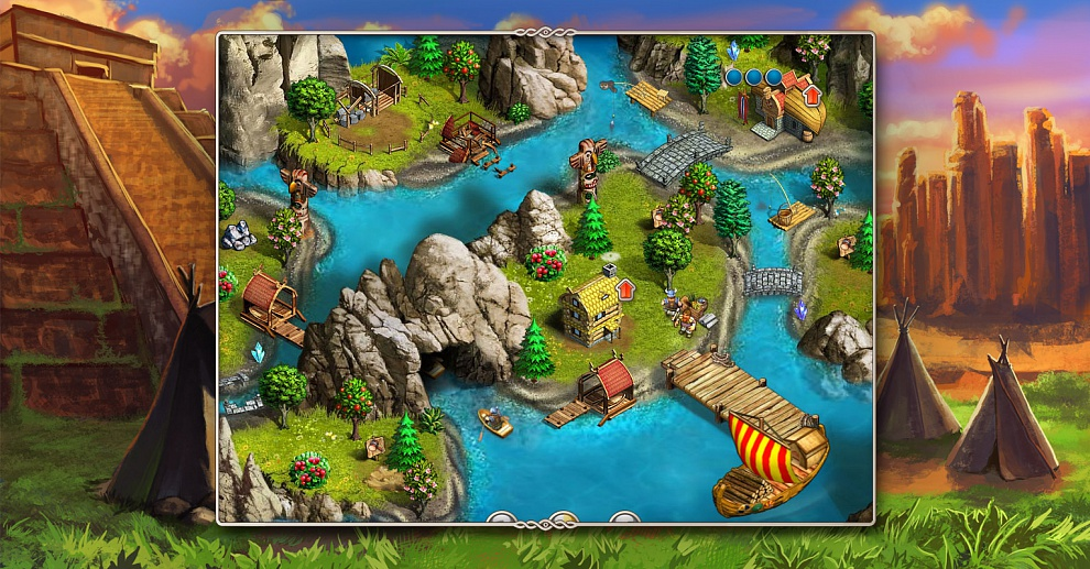 Screenshot № 7. Download Viking Saga 2: New World and more games from Realore website