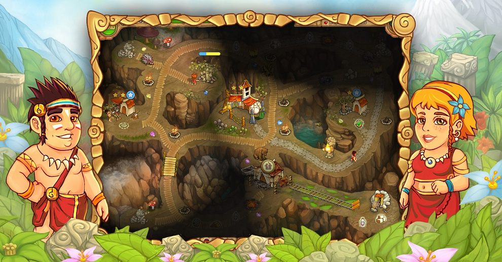 Screenshot № 3. Download Island Tribe 3 and more games from Realore website