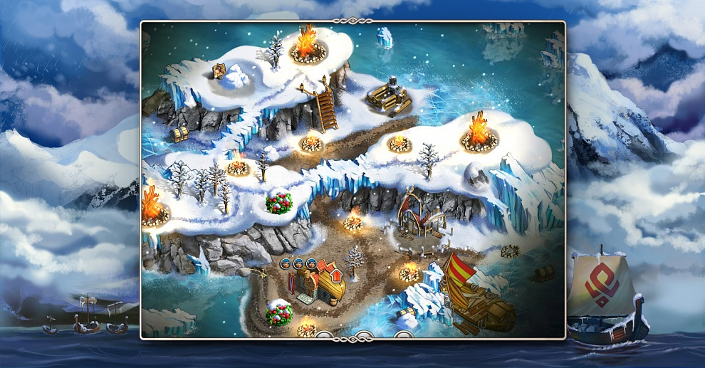 Screenshot № 4. Download Viking Saga 2: New World and more games from Realore website