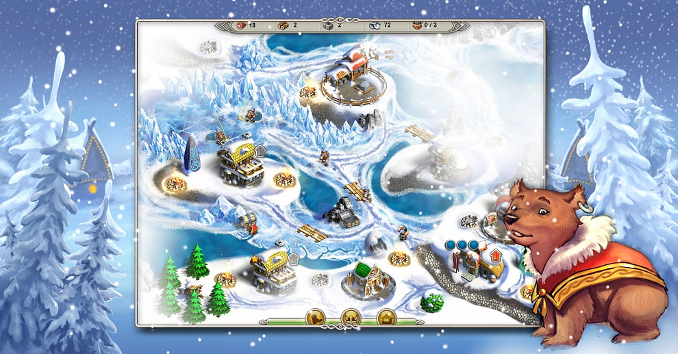 Screenshot № 4. Download Viking Saga 1: The Cursed Ring and more games from Realore website