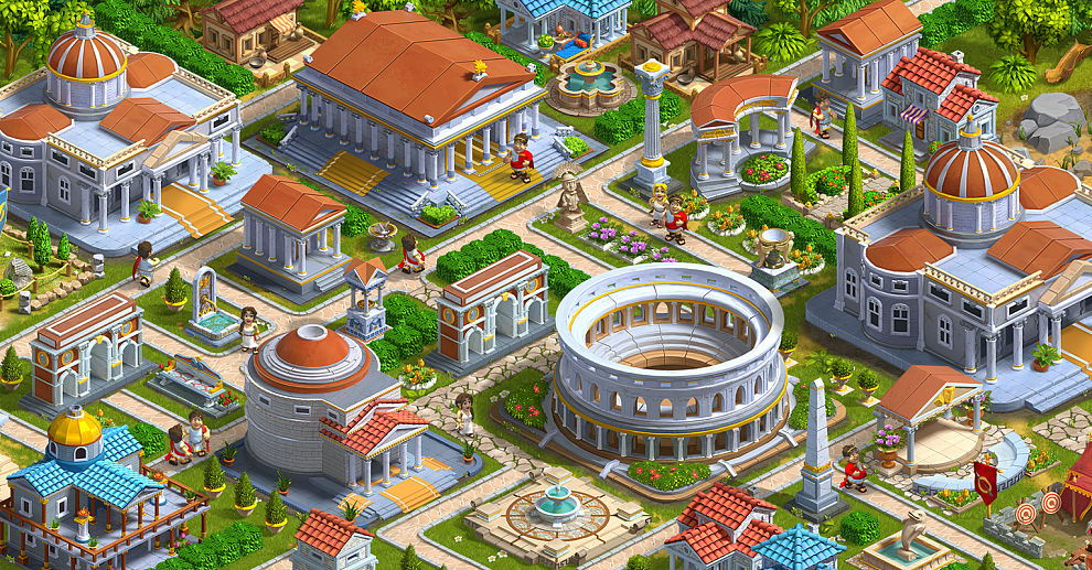 Screenshot № 4. Download Rise of the Roman Empire and more games from Realore website