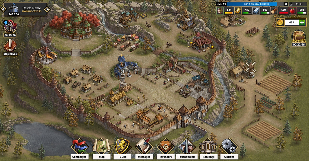 Screenshot № 1. Download Khan Wars and more games from Realore website