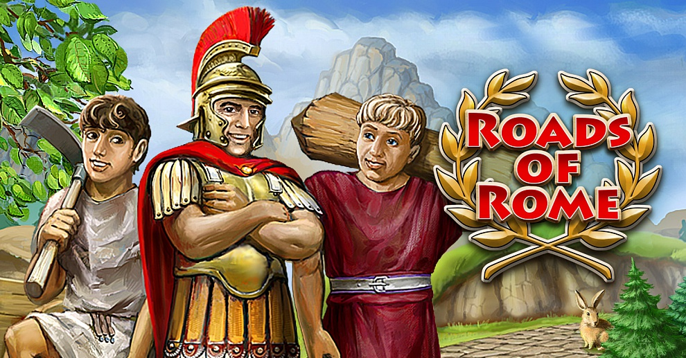 Screenshot № 1. Download Roads of Rome and more games from Realore website