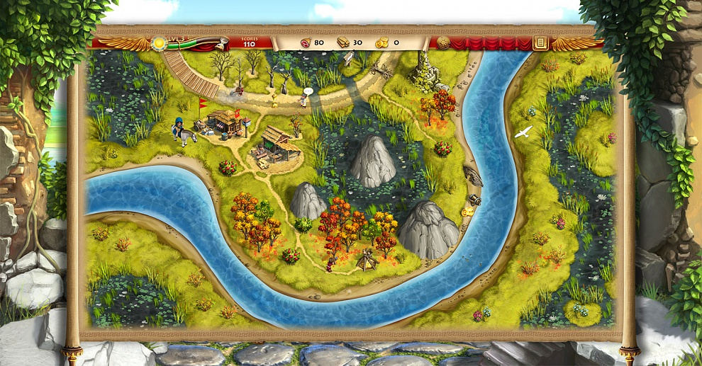 Screenshot № 1. Download Roads of Rome: New Generation 2 and more games from Realore website