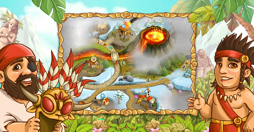 Screenshot № 2. Download Island Tribe 4 and more games from Realore website