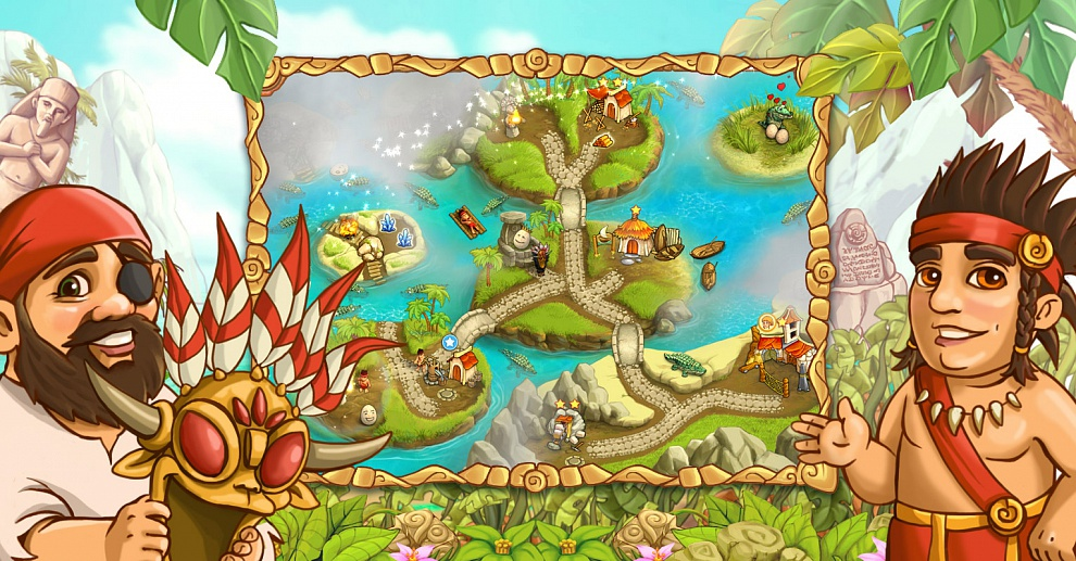 Screenshot № 6. Download Island Tribe 4 and more games from Realore website