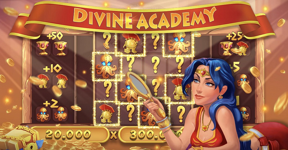 Screenshot № 2. Download Divine Academy Casino: Slots and more games from Realore website